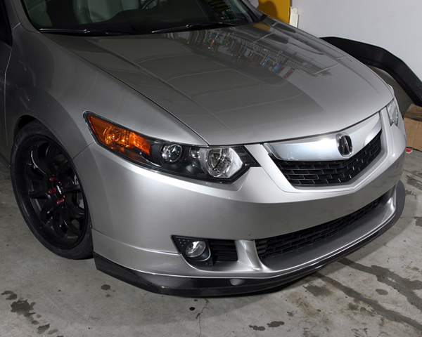 Image of JDP Engineering Carbon Front Lip Spoiler Acura TSX 09-10