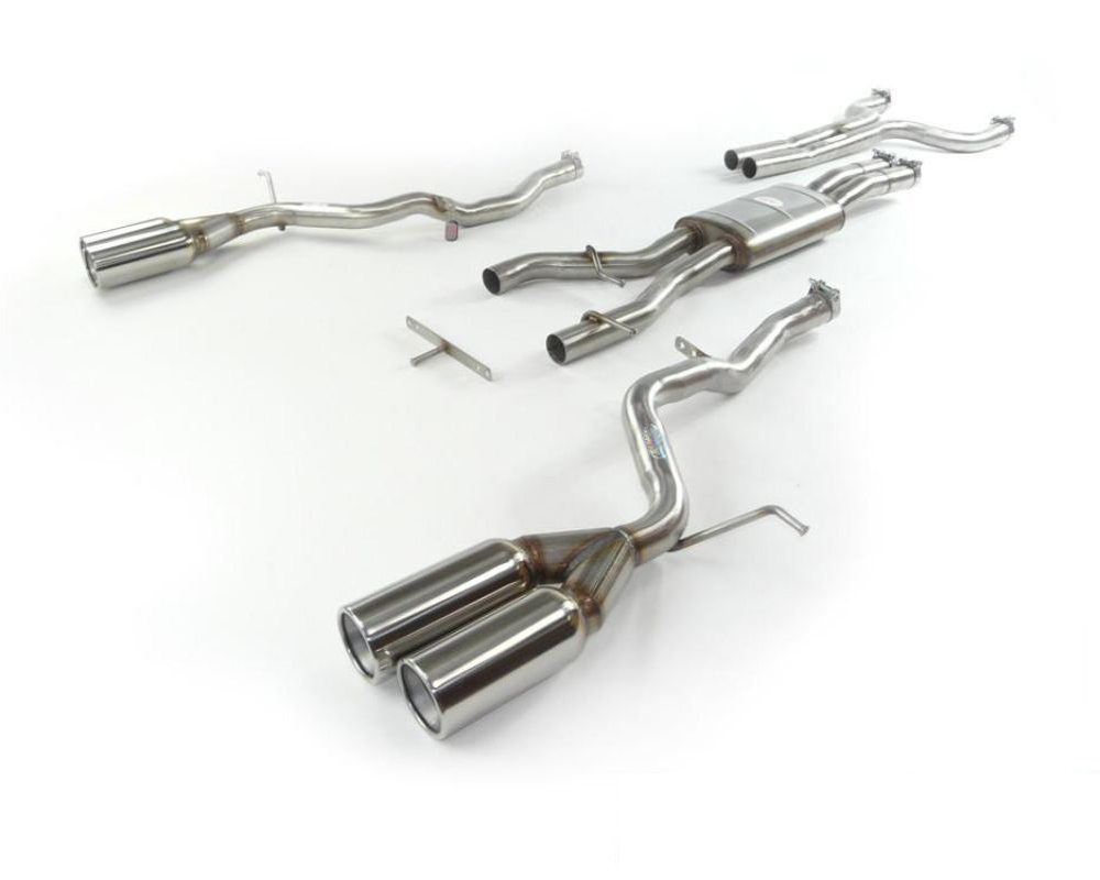 Quicksilver SuperSport Stainless Steel Exhaust System Jaguar XKR   XKR-S 5.0L SuperCharged 09-14 - JR515S