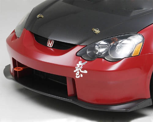 Js Racing Type S Front Bumper W FRP Under Panel Acura RSX - Acura rsx aftermarket parts