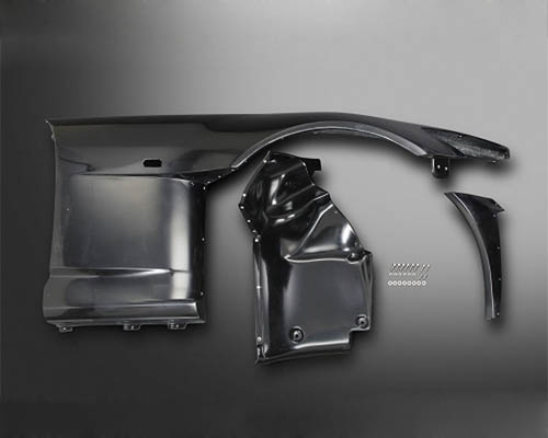 Js Racing FRP Front Right Wide Fender Honda S2000 2000-2009 - JSWF-S1-R