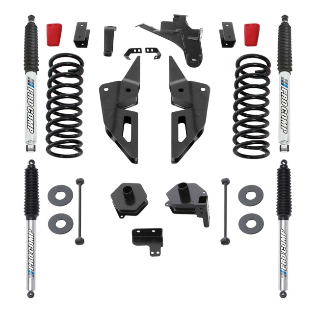 "Pro Comp 4"" Stage I Lift Kit w/ Pro Runner Shocks Ram 2500 4WD 2019 - K2107BP"