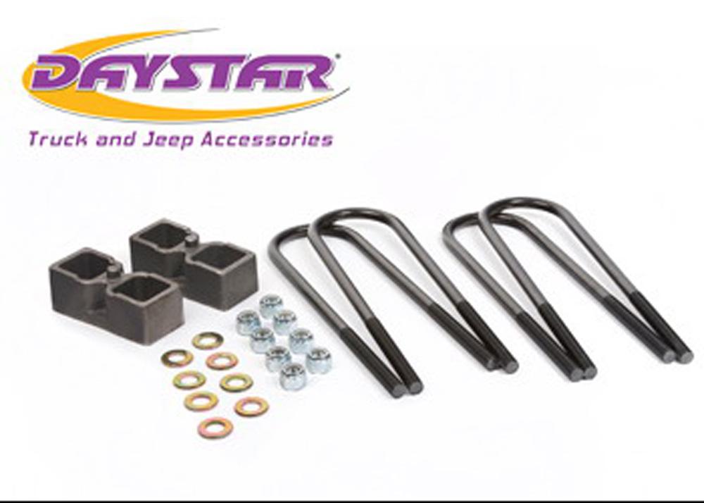 03-10 Dodge Ram 2500-3500 4WD 2 Inch Rear Block Kit AAM 10.50 Rear Axle Daystar - KC09132ST