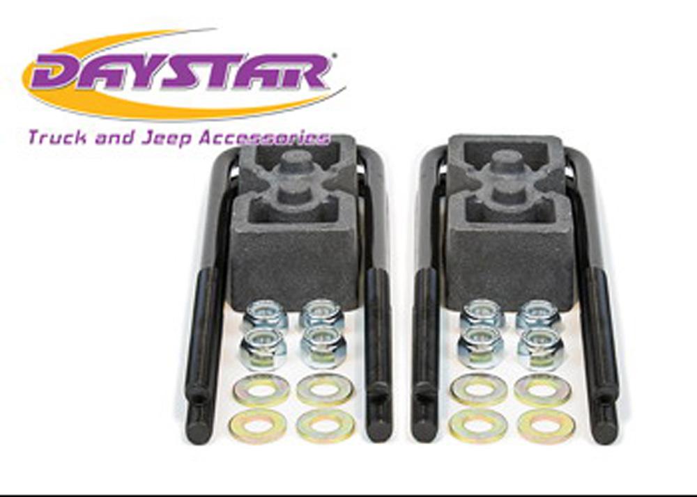 04-18 F150 2 Inch Rear Block and U Bolt Kit Daystar - KF09123