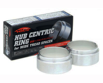 Project Kics Hubcentric Rings 57mm Diameter for 15mm Spacer - W1557HR