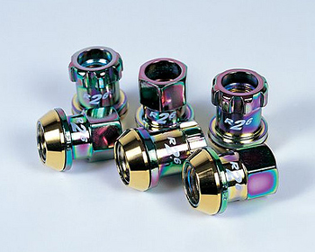 Project Kics R26 M12x1.50 Racing Lug Nuts NEO Chrome - 32876N