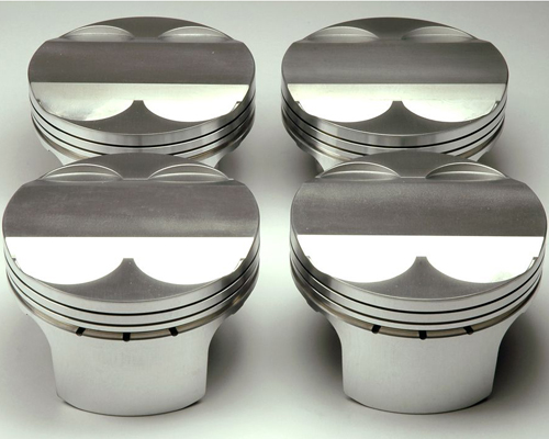 Cosworth 12:1 Forged 87.5mm Pistons w/o Rings Ford Duratec / Mazda MZR 2.0L / 2.3L 01-11