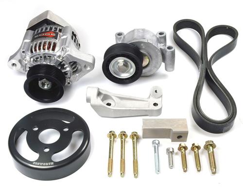 Cosworth Alternator Kit w/ Low Speed Pump Pulley Ford Duratec / Mazda MZR 2.3L 01-11