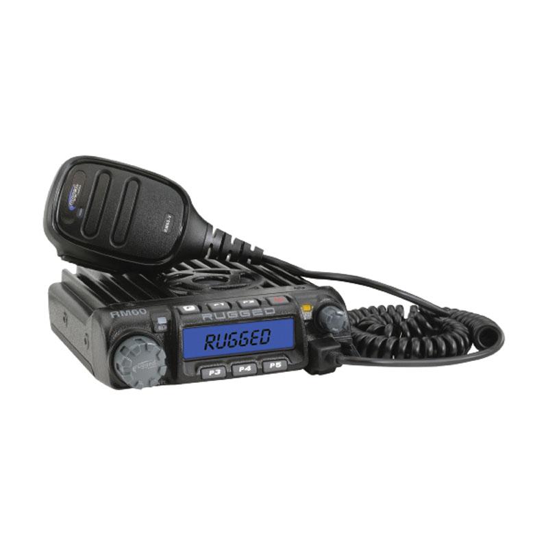 Rugged Radios Complete UTV Kit w/ Helmet Kits Kawasaki KRX - KRX-KIT-HK