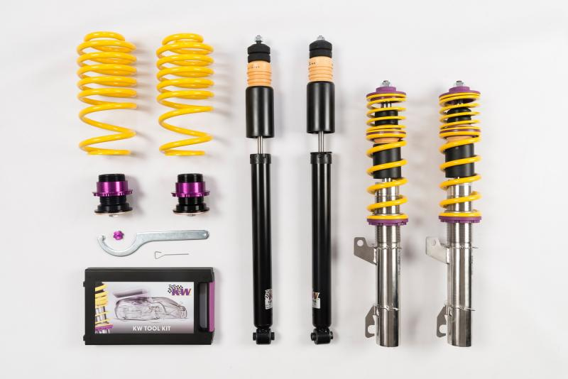 KW Coilover Kit V1 Audi TT Coupe   Roadster FWD All Engines   Volkswagen New Beetle 1998-2010 - 10210005