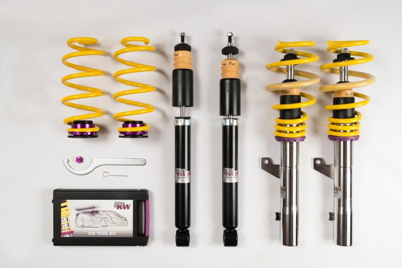 KW Coilover Kit V1 Audi TT Coupe Quattro | TTS Coupe | TT RS Coupe (8J | A5) w/o Magnetic Ride | Volkswagen Golf VI w/o DCC 2007-2014 - 10281031