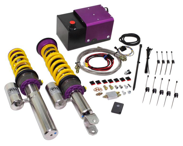 KW Variant 3 Coilovers w/HLS 2 Front Lift System Audi R8 ALL 08-12