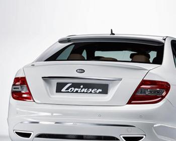 Lorinser Rear Deck Lid Spoiler Mercedes-Benz C-Class Including C63 AMG 08-11 - 488 0204 75