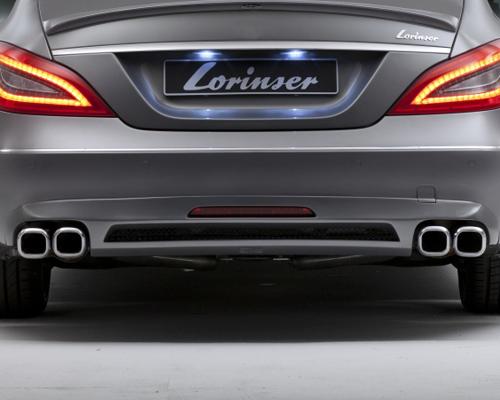 Lorinser Sport Exhaust Mercedes-Benz CLS-Class 11+ - 490 0212 05