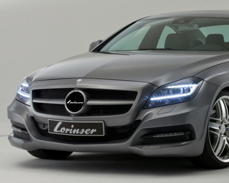 Lorinser Elite Front Bumper Cover Mercedes-Benz CLS-Class w/o Parktronic 11-12 - 488 0218 4010