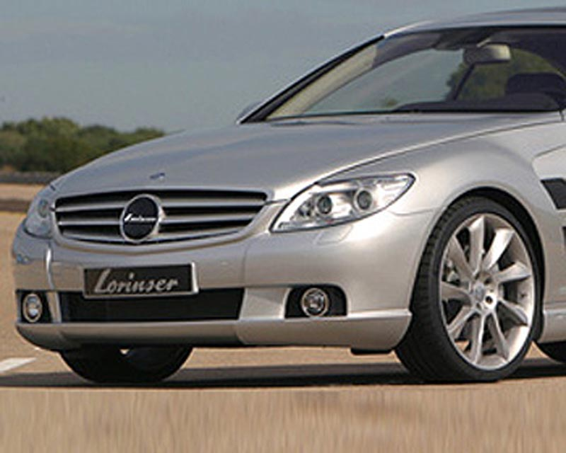Lorinser Exclusive Front Bumper Cover Mercedes-Benz CL-Class w/o Parktronic 07-12 - 488 0216 40