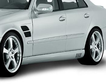Lorinser Exclusive Left Side Skirt Mercedes-Benz E-Class Sedan 07-09 - 488 0211 40
