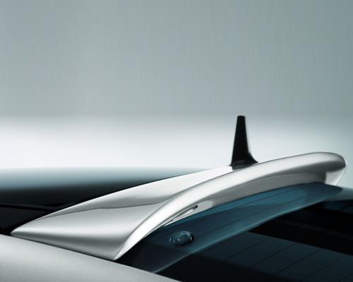 Lorinser Rear Roof Spoiler Mercedes-Benz E-Class Sedan 03-06 - 488 0210 02
