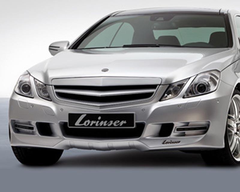 Lorinser Elite Front Bumper Cover Mercedes-Benz E350 / E550 Coupe w/o Parktronic 10-12 - 488 0207 02