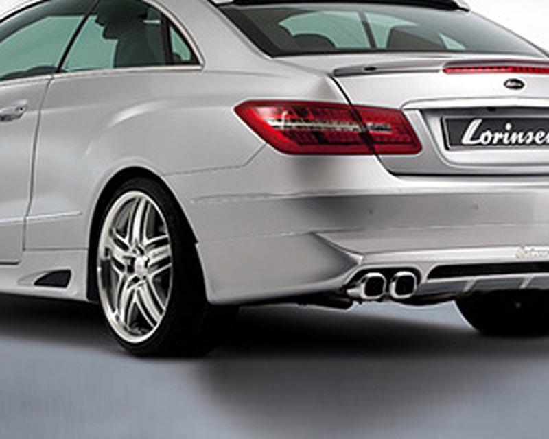 Lorinser elite side sills for elite rear bumper mercedes for Elite mercedes benz