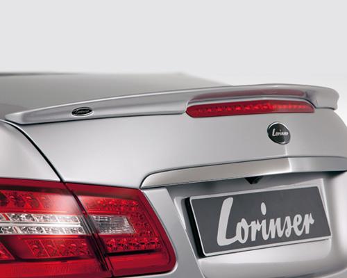 Lorinser Elite Rear Deck Lid Spoiler Mercedes-Benz E350 / E550 Coupe 10-12 - 488 0207 70
