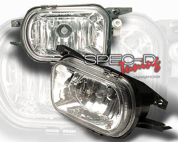 SpecD OEM Style Clear Fog Lights Mercedes-Benz C-Class 01-05 - LF-BW20301