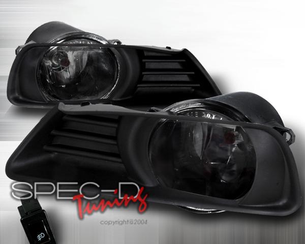 SpecD OEM Style Smoked Fog Lights Toyota Camry 07-09 - LF-CAM07GOEM