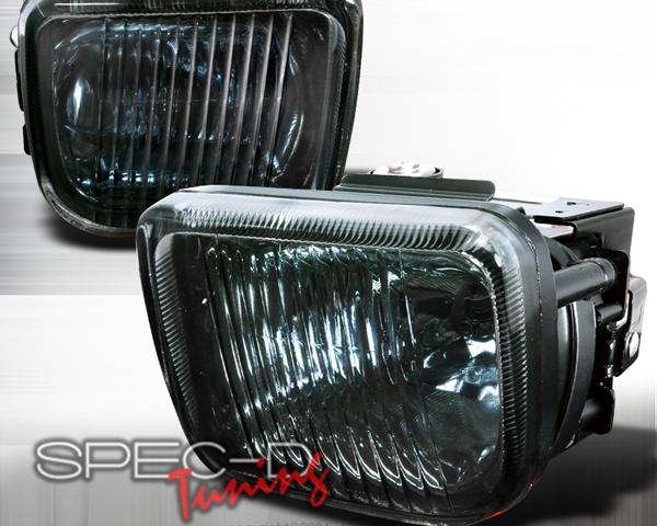 SpecD OEM Style Smoked Fog Lights Honda Civic 96-98 - LF-CV96G-WJ