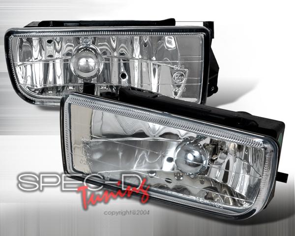 SpecD OEM Style Clear Fog Lights BMW E36 3-Series 92-98 - LF-E3692