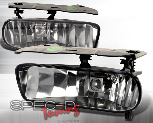 SpecD OEM Style Clear Fog Lights Cadillac Escalade 02-05 - LF-ECLD02COEM-APC