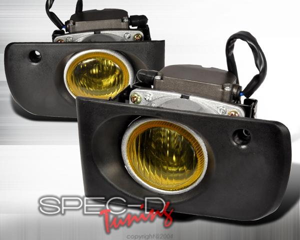 SpecD OEM Style Yellow Fog Lights Acura Integra 94-01 - LF-INT94AMOEM