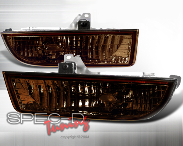 SpecD OEM Style Smoked Amber Fog Lights Honda Prelude 97-01 - LF-PL97G-RS
