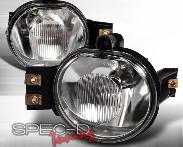SpecD OEM Style Clear Fog Lights Dodge Ram 02-06 - LF-RAM02COEM-APC