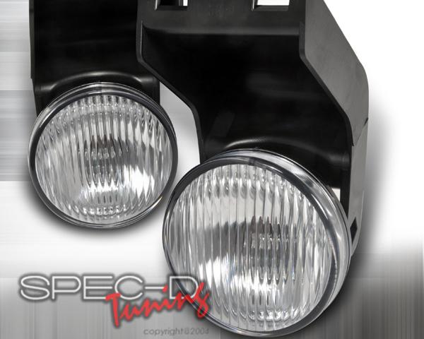 SpecD OEM Style Clear Fog Lights Dodge Ram 94-01 - LF-RAM94COEM-APC