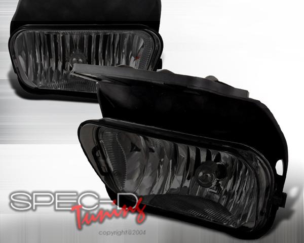 SpecD OEM Style Smoked Fog Lights Chevrolet Silverado 03-04 - LF-SIV03GOEM-APC