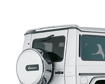Lorinser Rear Roof Wing w/3rd Brake Light Mercedes-Benz G-Class 00-09 - 488 2171 00