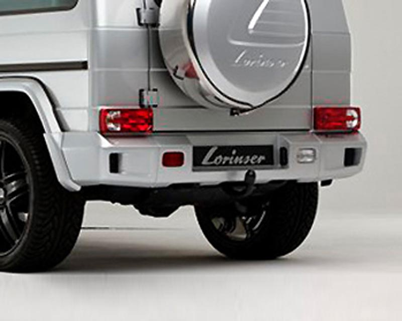 Lorinser Rear Bumper Cover Wide Version Mercedes-Benz G-Class w/o Parktronic 10-12 - 488 0463 31