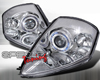 SpecD Chrome Dual Halo Projector Headlights Mitsubishi Eclipse 00-05