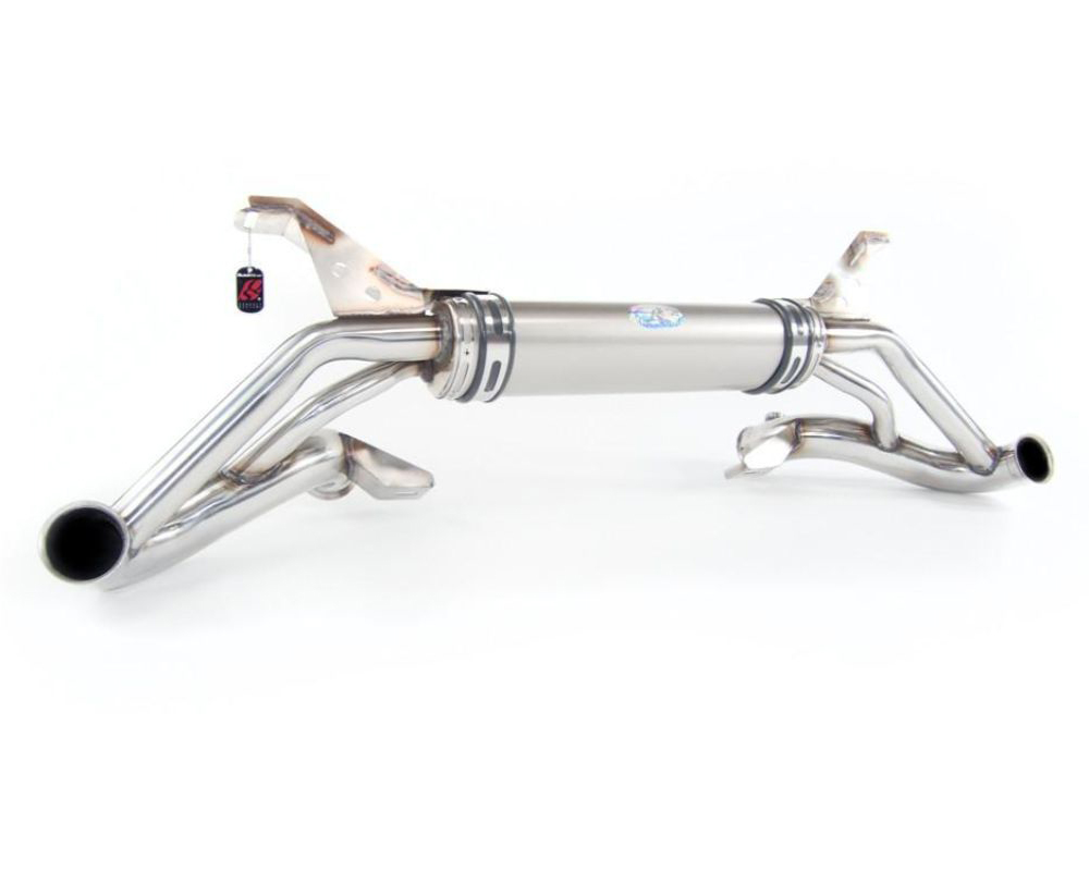 Quicksilver Titanium Sport Stainless Steel Exhaust Lamborghini Gallardo inc. Superleggera 06-08 - LM096T