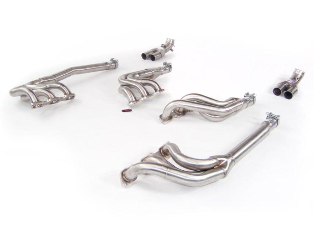 Quicksilver Heritage Long Stainless Steel Manifolds Lamborghini Diablo 91-97 - LM188