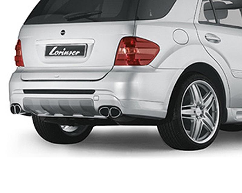 Lorinser Rear Bumper Cover Mercedes-Benz ML350 / ML500 / ML550 05-08 - 488 0164 10