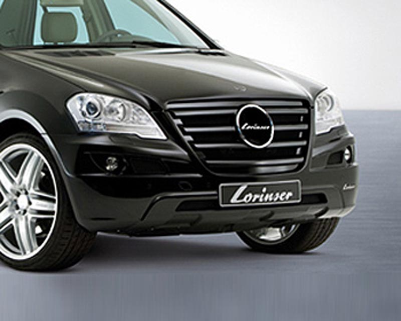 Lorinser Front Bumper Cover Mercedes-Benz ML350 / ML500 / ML550 w/o Parktronic 09-10 - 488 0164 0800