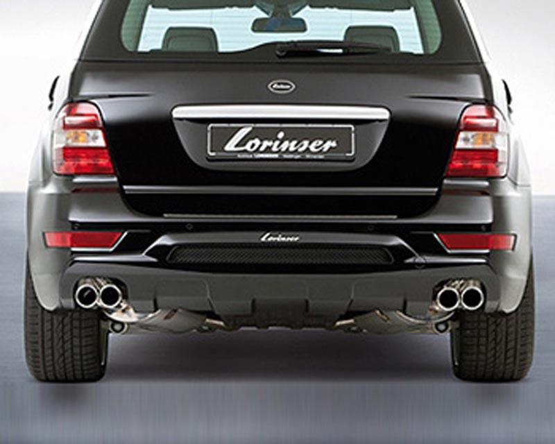 Lorinser Rear Bumper Cover Mercedes-Benz ML350 / ML500 / ML550 w/o Parktronic 09-10 - 488 0164 0810