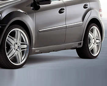 Lorinser Right Side Skirt Mercedes-Benz ML350 / ML500 / ML550 09-10 - 488 0164 0825