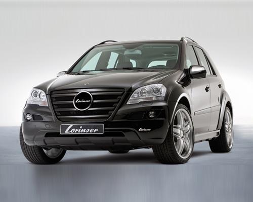 Lorinser Fender Widening Set Mercedes-Benz ML350 / ML500 / ML550 09-10 - 488 9164 0800