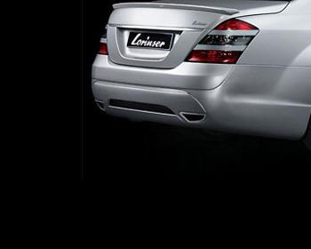 Lorinser Sport Exhaust System Mercedes-Benz S600 / S63 / S65 06-09 - 490 0221 20