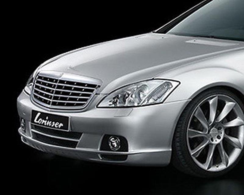 Lorinser Exclusive Front Bumper Cover w/Parktronic Mercedes-Benz S-Class 06-09 - 488 0221 43