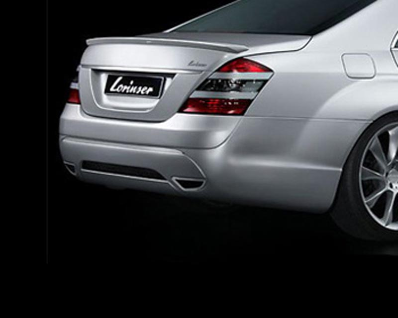 Lorinser Exclusive Rear Bumper Cover w/Parktronic Mercedes-Benz S-Class 06-09 - 488 0221 5302
