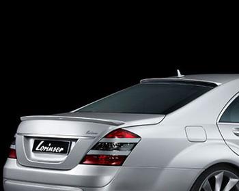Lorinser Rear Deck Lid Spoiler Mercedes-Benz S-Class 06-12 - 488 0221 75