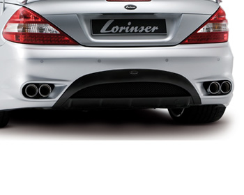 Lorinser Elite Sport Exhaust Mercedes-Benz SL550 09-12 - 490 0230 90