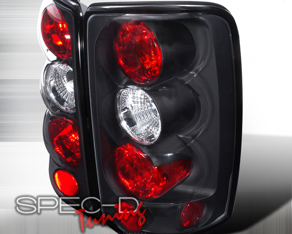 SpecD Black Housing Altezza Tail Lights GMC Yukon 00-06 - LT-DEN00JM-TM